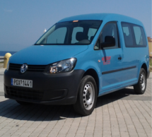 Volkswagen Caddy Mini Bus 7seat - Rent a Car Rhodes